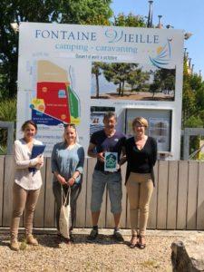 Camping FontaineVieille labellisé Accueil vélo