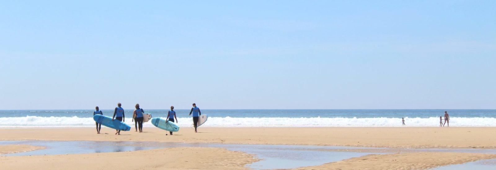 Plage du Grand Crohot Surf Océan