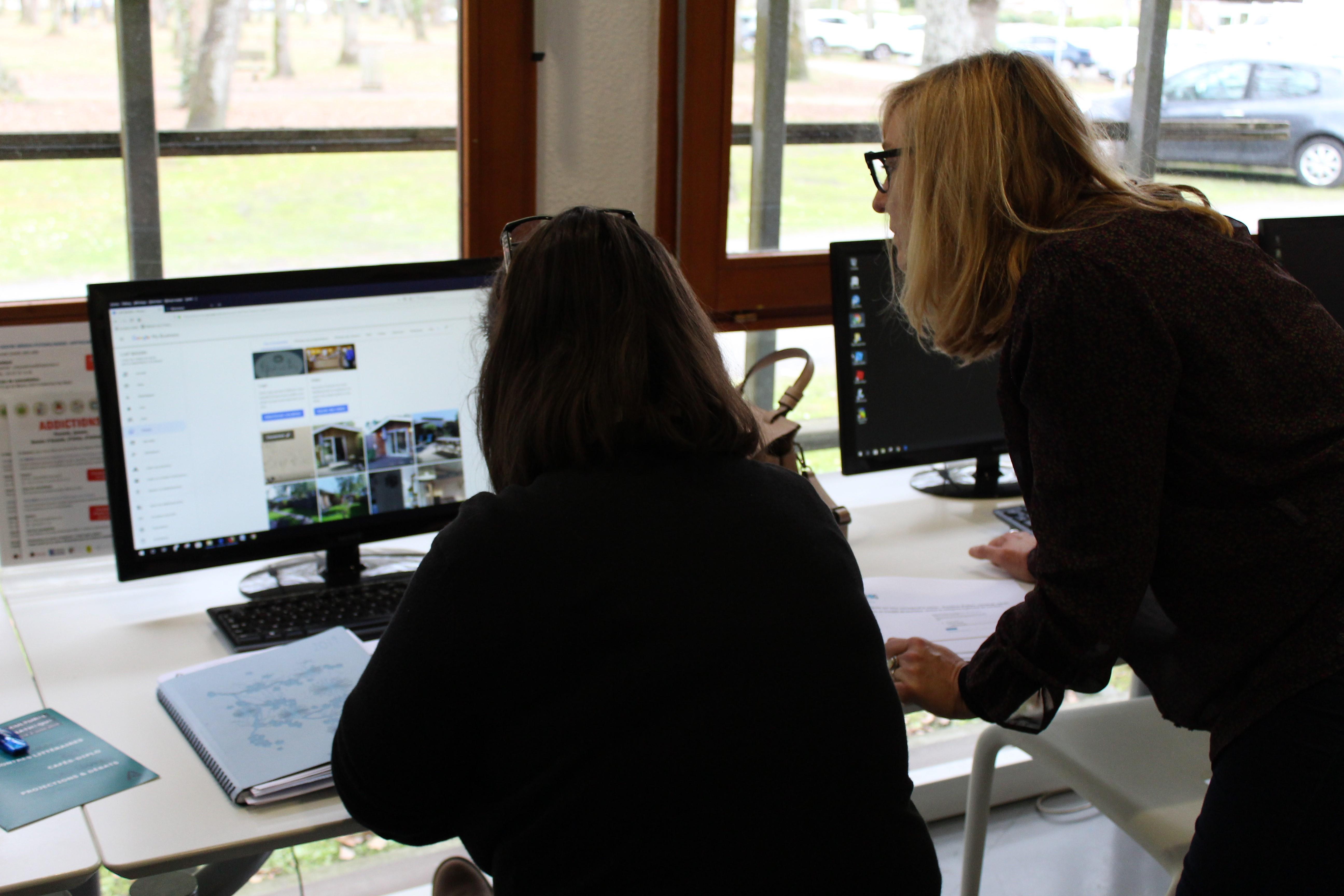 Ateliers numériques de l'Office de Tourisme d'Andernos