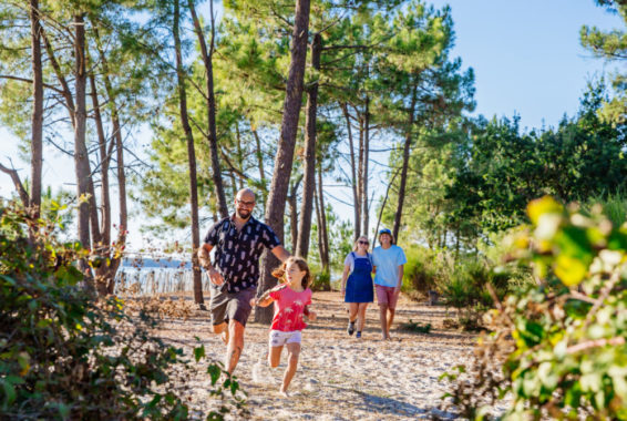 Balade et visites guidées nature Andernos les bains Bassin d'Arcachon crédit photo Agence les Conteurs
