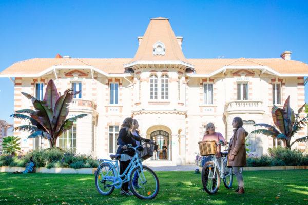 En vélo à Andernos