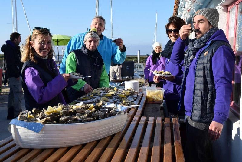 Cabanes en fête Andernos Bassin d'arcachon en décembre